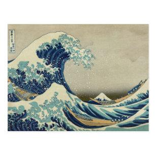 Große Welle Postkarten Zazzlede