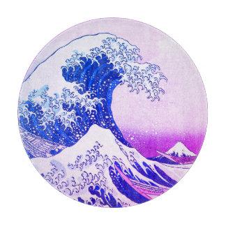 Die große Welle weg von Kanagawa Schneidebrett