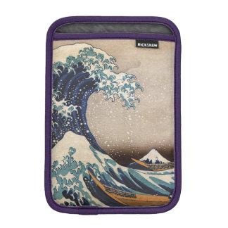 Die große Welle weg von Kanagawa Sleeve Für iPad Mini