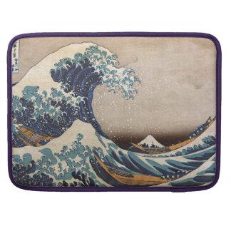 Die große Welle weg von Kanagawa Sleeve Für MacBook Pro