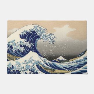 Die große Welle weg von Kanagawa Türmatte