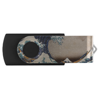Die große Welle weg von Kanagawa USB Stick