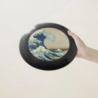 Die große Welle weg von Kanagawa: Woodblock Druck Wham-O Frisbee