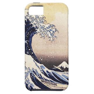Die große Welle weg von Vintager japanischer Kunst iPhone 5 Hülle