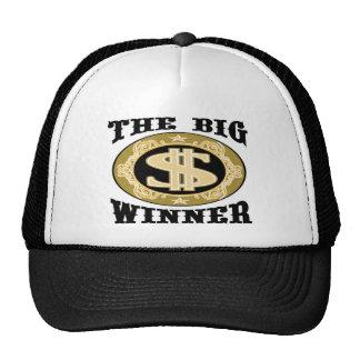 Die großen Sieger-T-Shirts und die Geschenke Trucker Caps