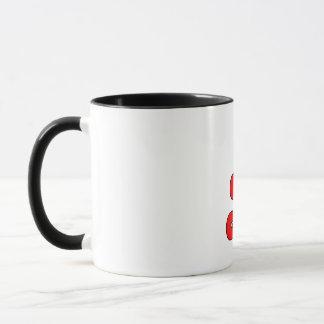 Die Großmutter-Regenbogen-Farbkaffee-Tasse der Tasse