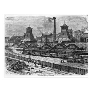 Die Gruben von St Pierre u. von St Paul an Le Postkarte