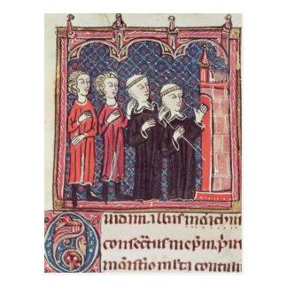 Die Grundlage eines Klosters Postkarte