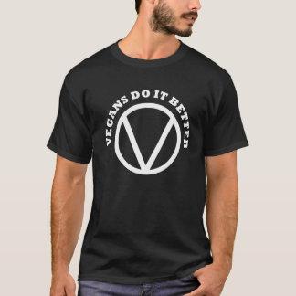 Die grundlegenden Vegans der Männer verbessert es T-Shirt
