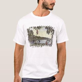 Die Gründung von Australien durch Kapitän Arthur T-Shirt