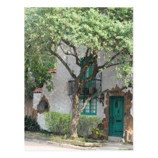 Die grüne Tür ©2008 Postkarte