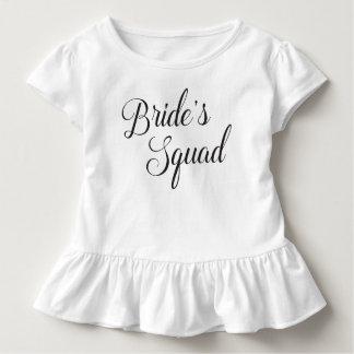 Die Gruppen-Kinder der Braut Kleinkind T-shirt