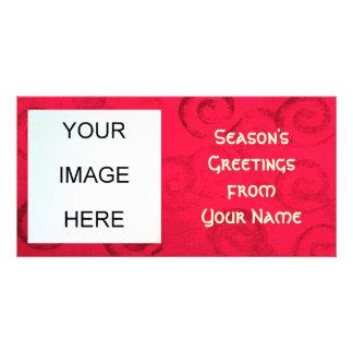 Die Gruß-Foto-Karte der Jahreszeit Photokarten