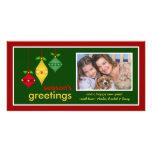 Die Gruß-WeihnachtsFoto-Karten der Jahreszeit Bild Karte