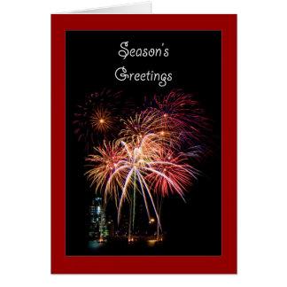 Die Grüße der Jahreszeit Karte