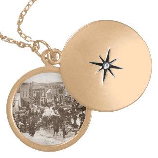 Die Halsketten-antikes aufzeichnenkongress-Party Anhänger