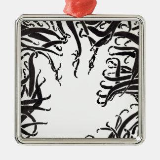 Die Hand in den Tentakeln Silbernes Ornament