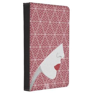 Die Harem-Frau u. das Muster zünden Foliokasten an Kindle Touch Hülle