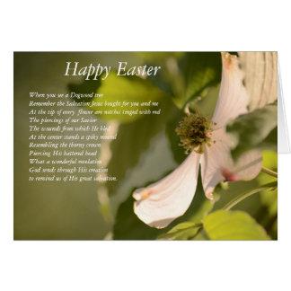 Die Hartriegel-Blume Karte