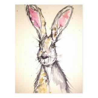 Die Hasen Postkarte