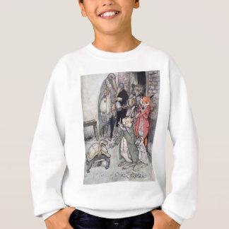 Die Hasen und die Schildkröte Sweatshirt