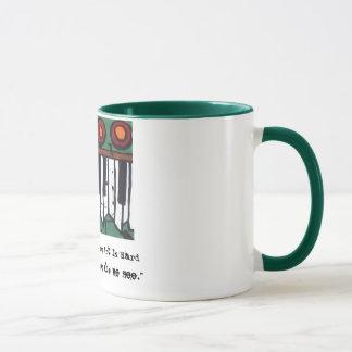 Die hässliche Organ-Kaffee-Tasse (Version 3) Tasse