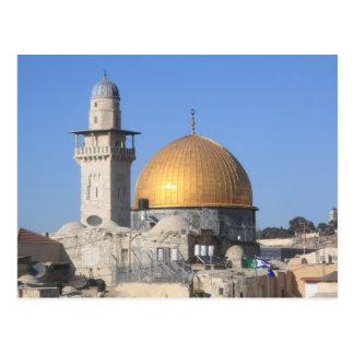Die Haube des Felsens, Al Aqsa, Jerusalem Postkarte