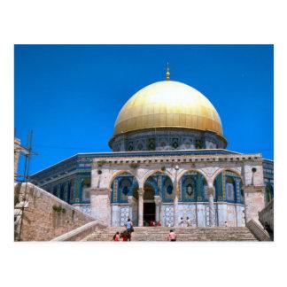 Die Haube des Felsens, Jerusalem 2 Postkarte