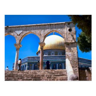 Die Haube des Felsens, Jerusalem Postkarte