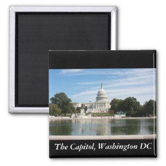 Die Hauptstadt, Washington DC Quadratischer Magnet