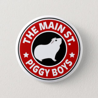 Die Hauptstraßen-Piggy Jungen Runder Button 5,1 Cm