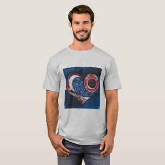"""Die Heide-Grau der Männer """"ein"""" T - Shirt"""