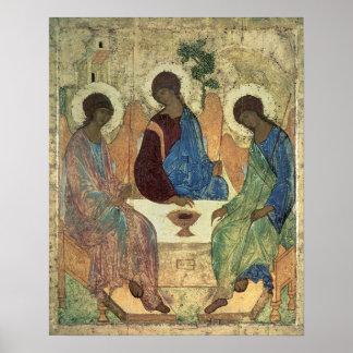 Die Heilige Dreifaltigkeit, 1420s Poster