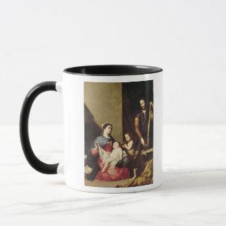 Die heilige Familie, 1639 Tasse