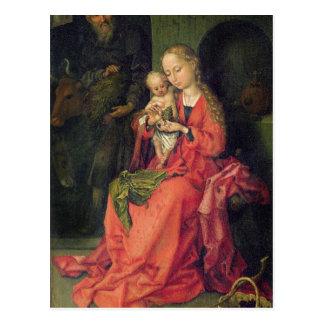 Die heilige Familie, c.1480-90 Postkarte