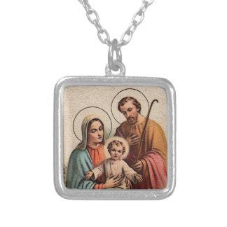 Die heilige Familie - Jesus, Mary und Joseph Halskette