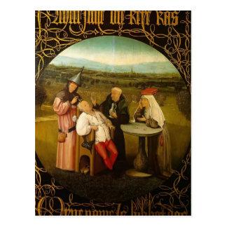 Die Heilung der Unsinnigkeit durch Hieronymus Postkarte