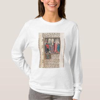 Die Heirat von König Philippe-Auguste von T-Shirt