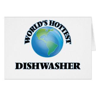 Die heißeste Spülmaschine der Welt Karten