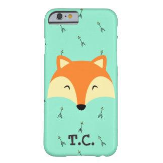 die hellblaue Fuchsjungen-Telefonabdeckung Barely There iPhone 6 Hülle
