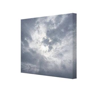 Die helle Leinwand des Himmels