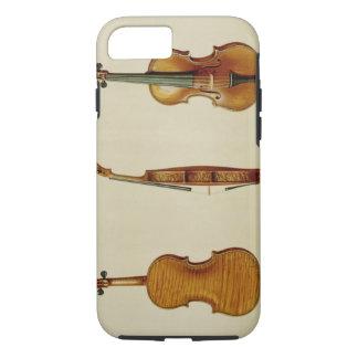 Die Hellier Violine hergestellt von Antonio iPhone 8/7 Hülle