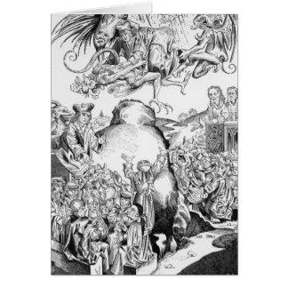 Die Herrschaft des Antichristen Karte