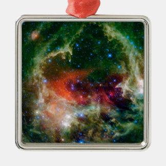 Die Herz-und Soul-Nebelfleck NASA Silbernes Ornament