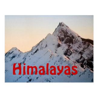 Die Himalajaeverest-Postkarte Postkarte