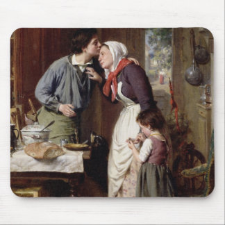 Die Hingabe eines Sohns, 1868 (Öl auf Leinwand) Mousepad
