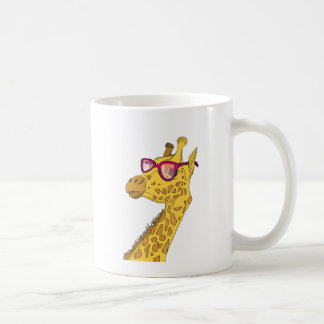 Die Hipster-Giraffe Tasse