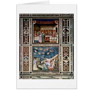 Die Hochzeit bei Cana durch Giotto Di Bondone Karte