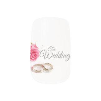 Die Hochzeit Minx Nagelkunst