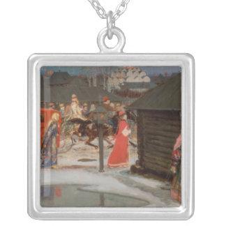 Die Hochzeits-Prozession Halsketten